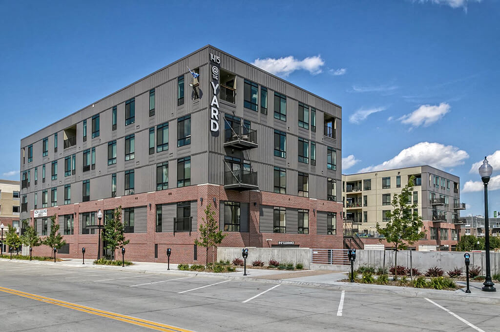 Centrally Located Community at 1415 @ The Yard, Omaha, 68102