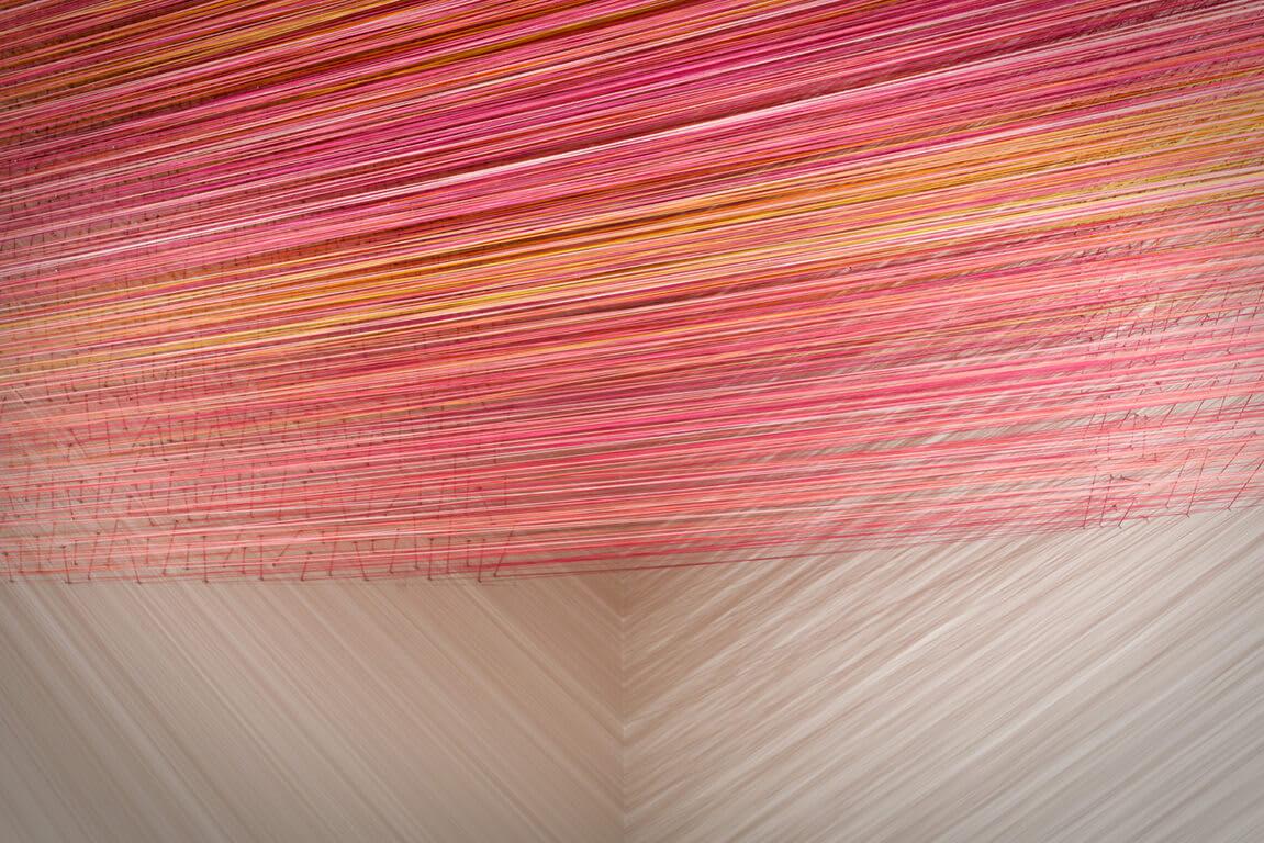 Thread Art at Aertson Midtown, Nashville, Tennessee