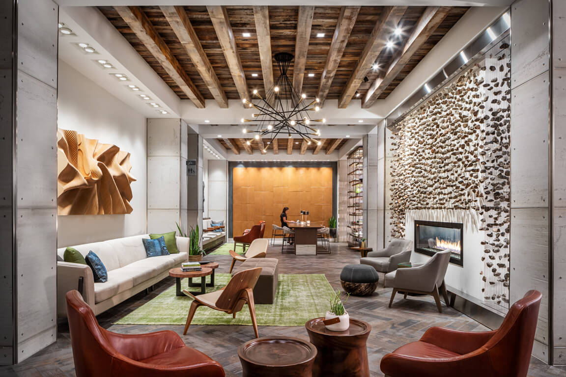 Exquisite Club Center and Lounge at Aertson Midtown, Nashville, TN