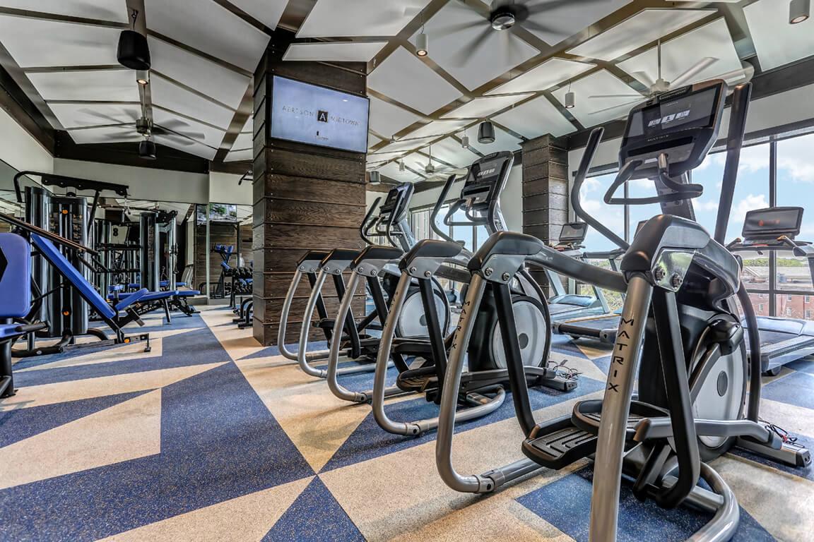 Fitness Center at Aertson Midtown, Nashville, Tennessee