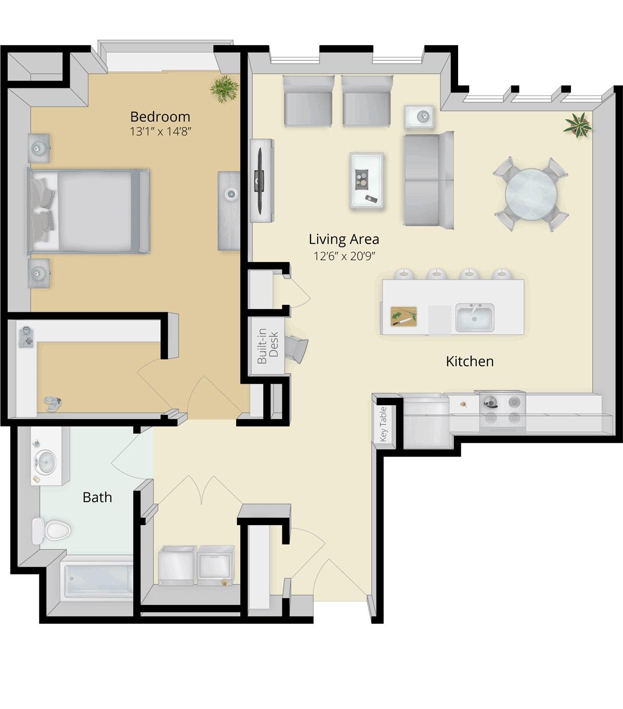 Cirrus Floor Plan 1C