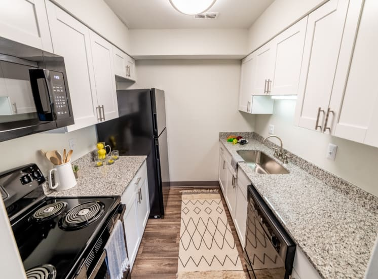 Eat-In Kitchen Table With Sink at Governor Square Apartments, Indiana, 46032