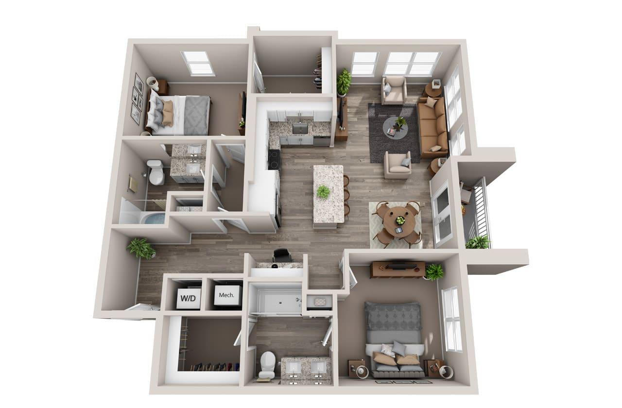 Mazarine Floor Plan