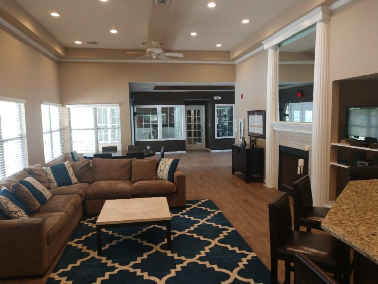 Large Multi-Activity Clubhouse at Deer Run Apartments, Brown Deer, WI, 53223