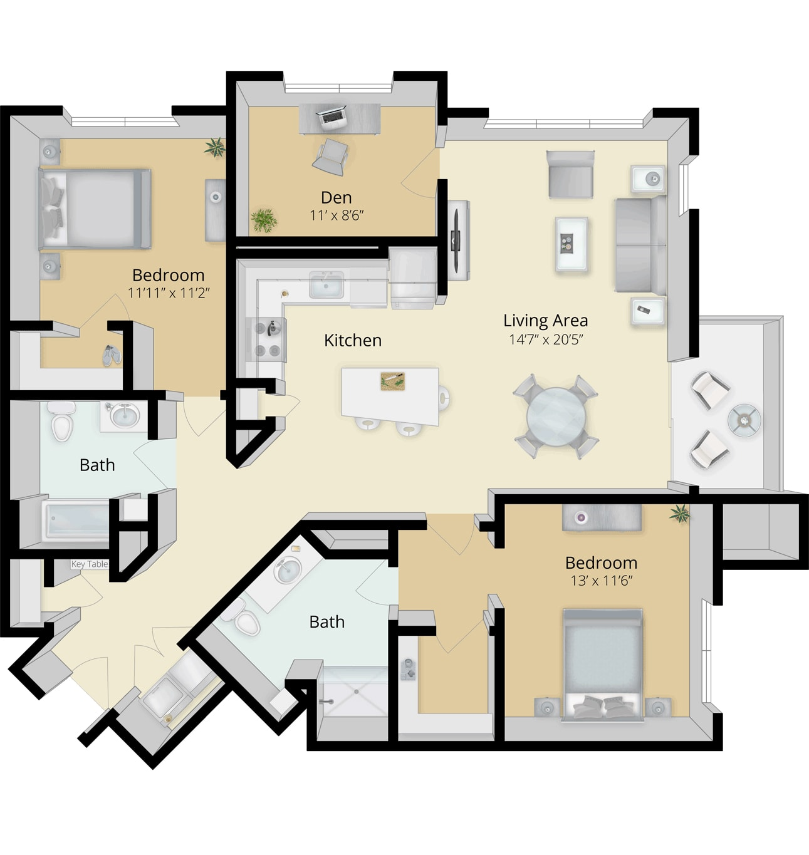 Cirrus Floor Plan 2C