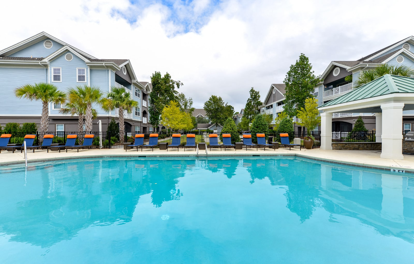 The Bluestone swimming pool