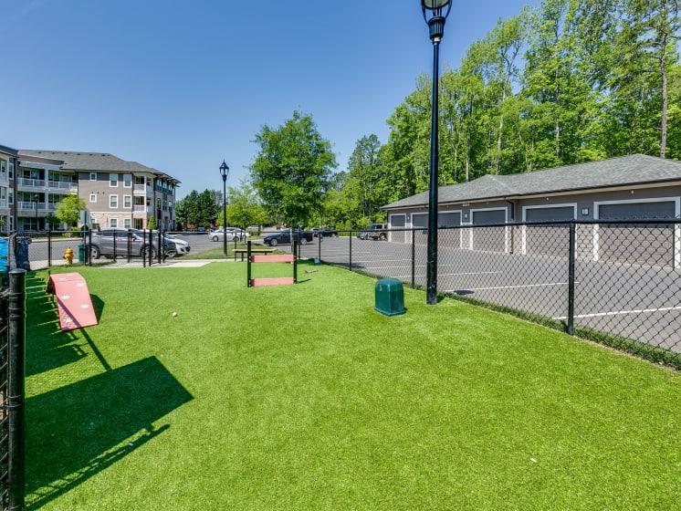 Bark Park Dog Park at The Flats at Ballantyne Apartments, Charlotte, North Carolina