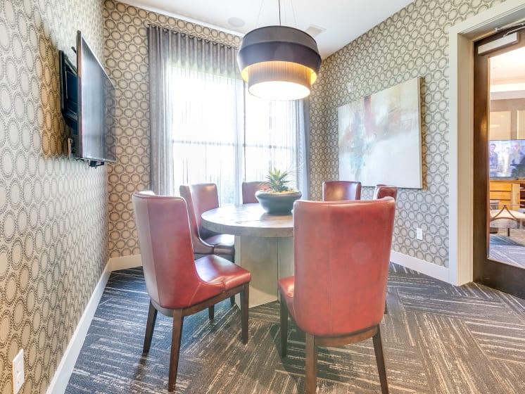 Meeting Space at The Flats at Ballantyne Apartments, Charlotte, North Carolina