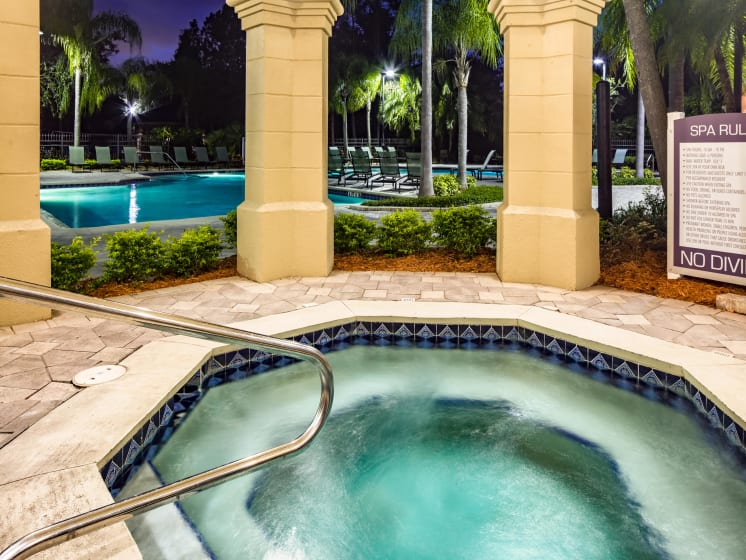 Resort Style Spa Grand Reserve Tampa Fl 33647