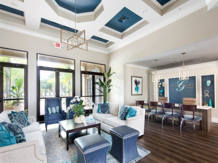 Beautiful Clubhouse Grand Reserve Tampa Fl 33647