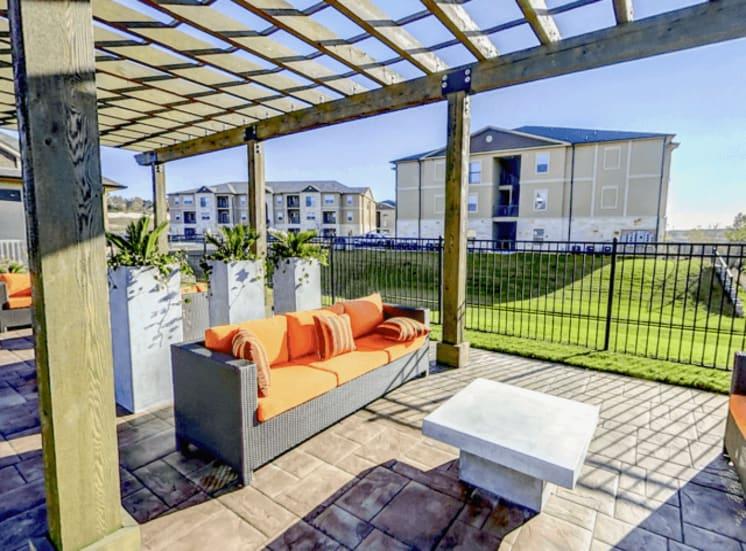 Trellis Lounge Exterior at Arrington Ridge, Round Rock, 78665