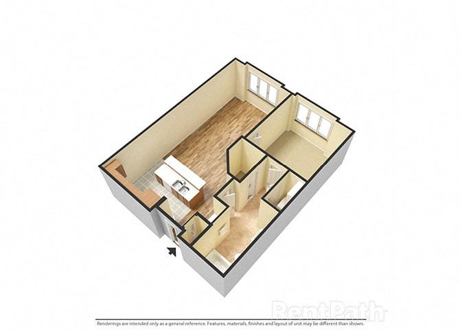 Floor-Plan-B-One-Bedroom-One-Bathroom