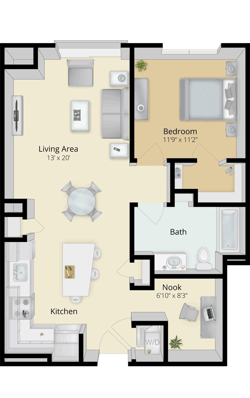 Cirrus Floor Plan 1A