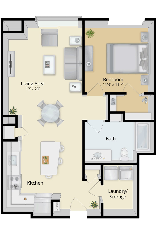 Cirrus Floor plan 1