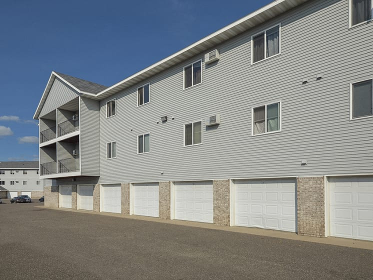Attached Garages Available