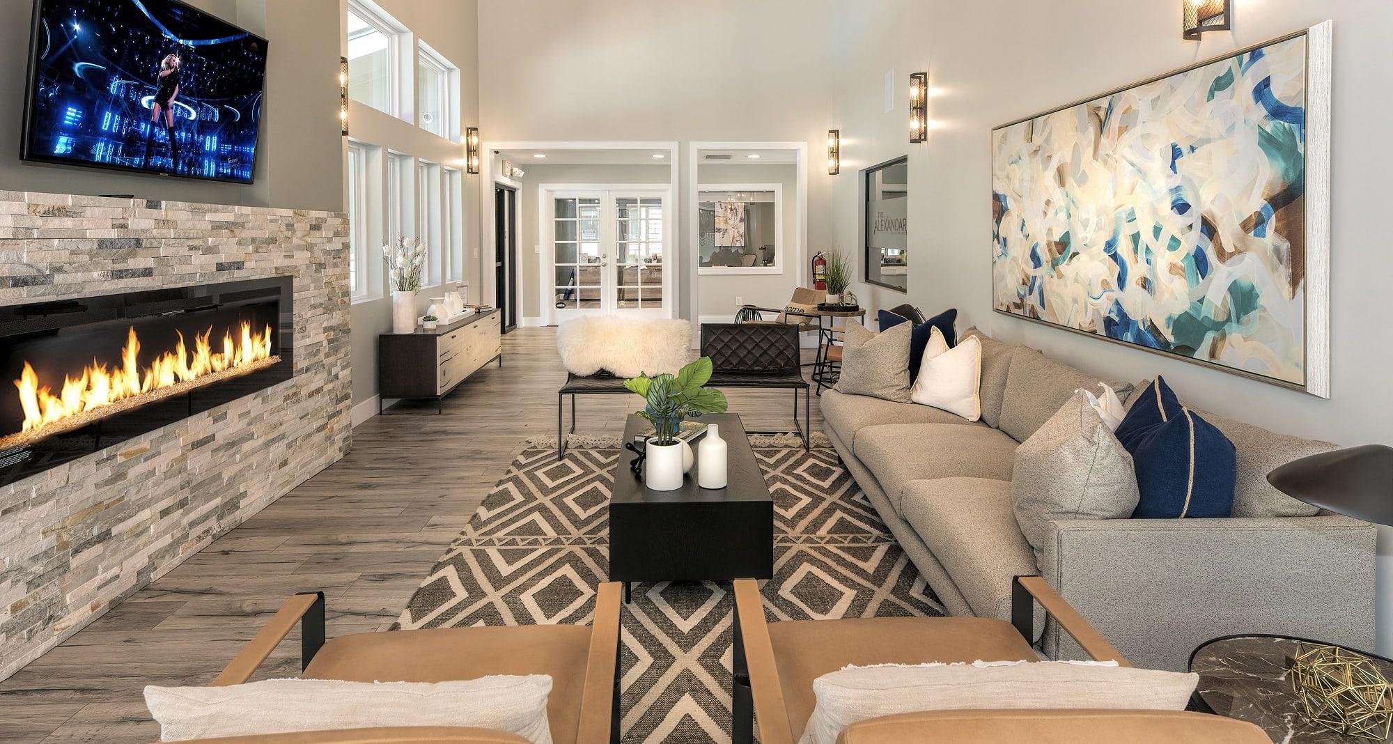 The Alexandar Apartments In Santa Rosa Ca