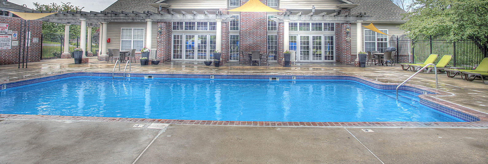 Shimmering Swimming Pool, at Autumn Grove Apartments, 5380 South 156th St, Omaha, 68135