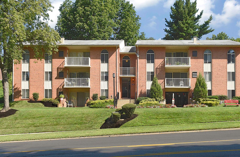 Private Balcony at Padonia Village Apartments, Timonium, MD, 21093