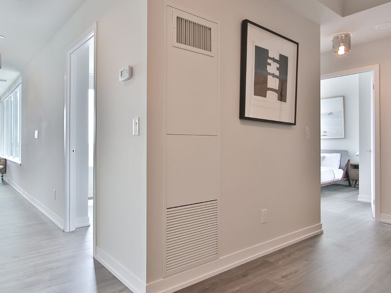 On-demand heating and cooling throughout the year