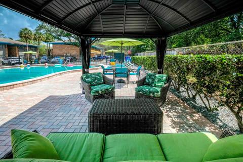 Pool Lounge at Watermarc
