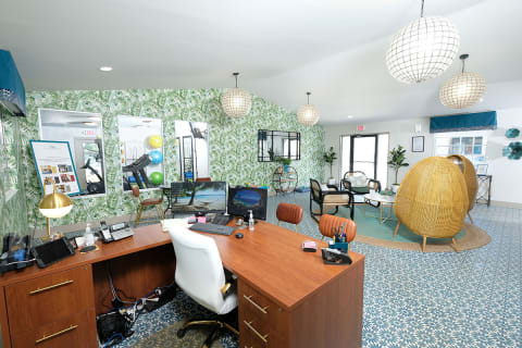 Club House & Leasing Office at Watermarc