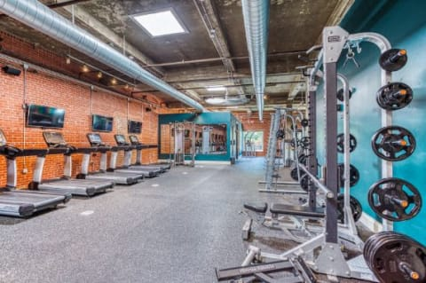 State Of The Art Fitness Center at CityView Apartments, Greensboro, NC, 27406