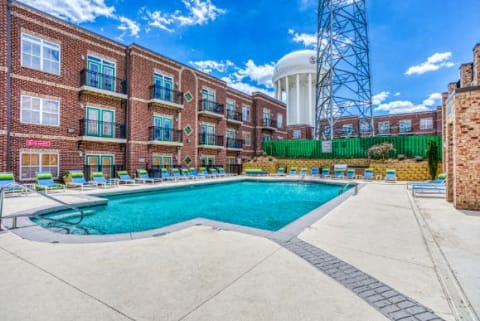 Relaxing Pool at CityView Apartments, North Carolina