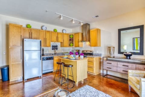 Gourmet Kitchens at CityView Apartments, Greensboro, NC, 27406