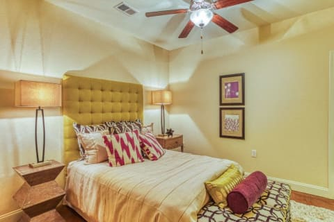 Spacious Bedroom With Comfortable Bed at CityView Apartments, Greensboro, North Carolina