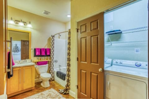 Updated Bathrooms at CityView Apartments, Greensboro