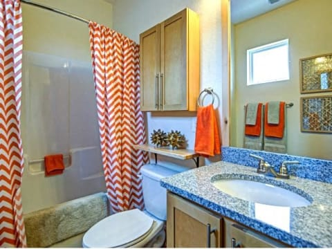 Shower Enclosures at CityView Apartments, North Carolina, 27406