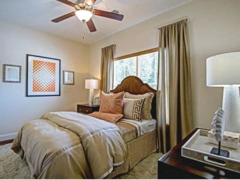 Window Coverings in Bedroom at CityView Apartments, North Carolina