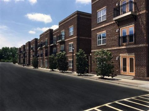 Beautiful Brick Construction at CityView Apartments, North Carolina, 27406