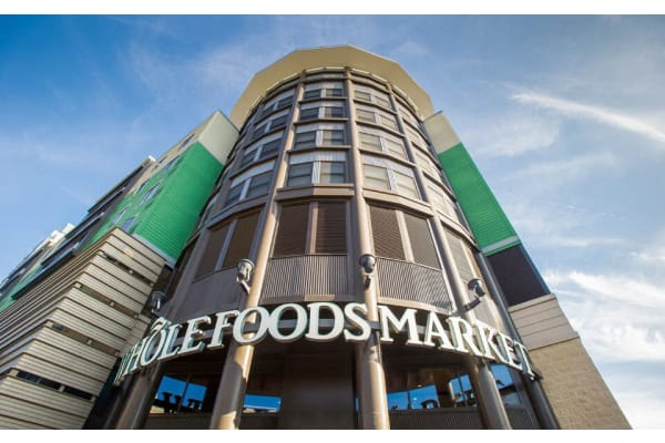 NoBe close proximity to local retailers such as Whole Foods