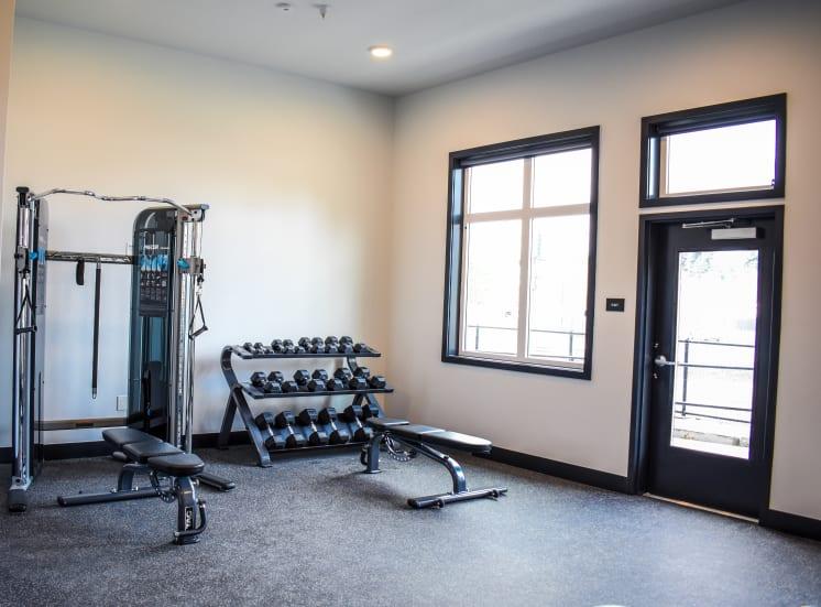 24-Hour Fitness Studio with Cardio & Free Weights at Manor Way, Everett, Washington