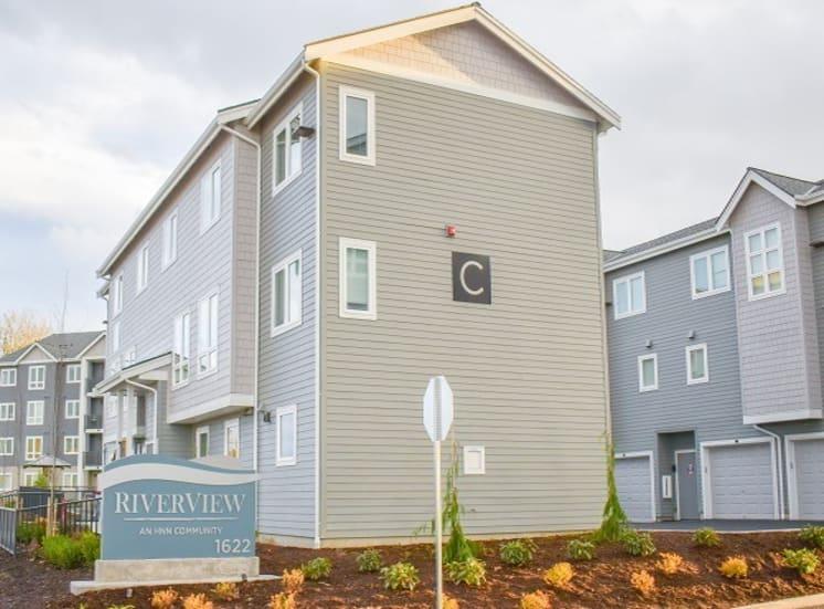 Riverview Community  Entrance
