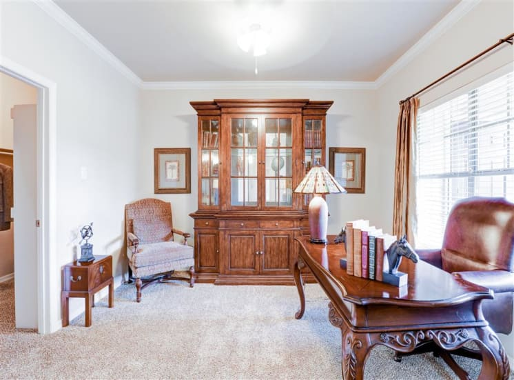 1,2 or 3 bedroom apartments For Rent, now leasing at Saddle Brook in North Dallas, TX.