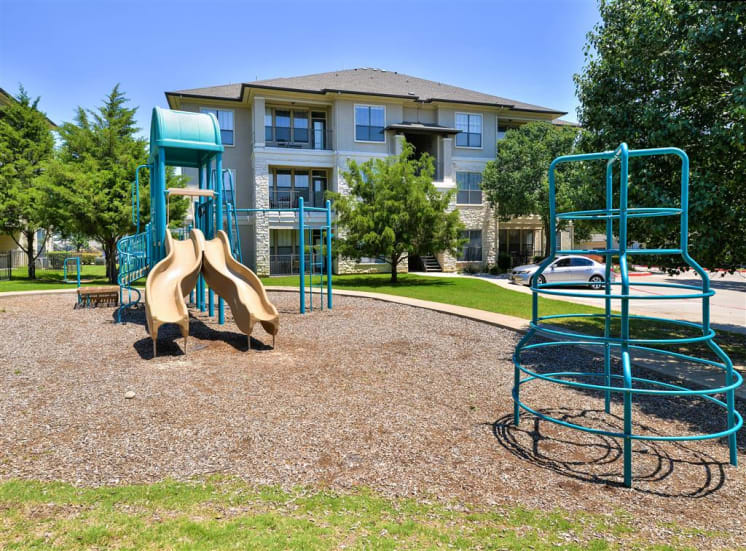 Playground at family friendly Cypress Lake - Now Renting 1, 2 and 3 bedroom apartments
