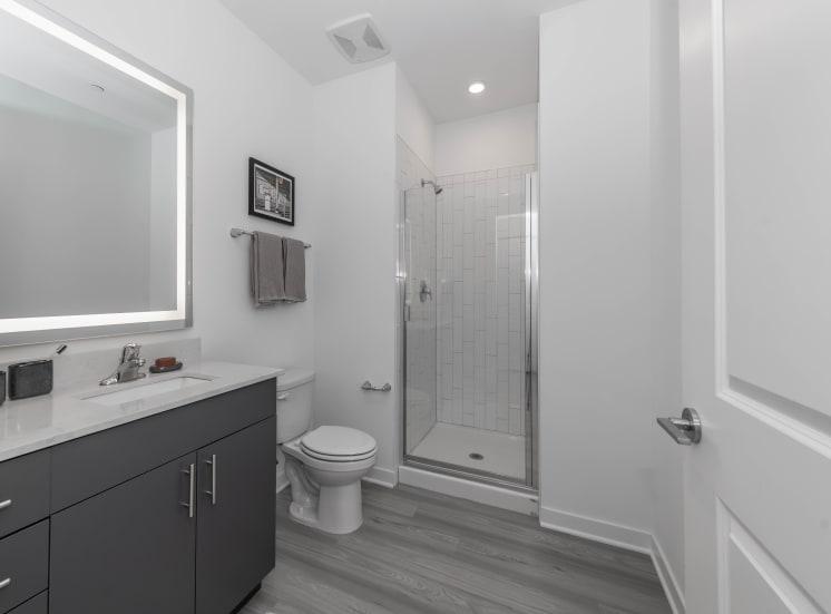 Large Modern Custom Baths