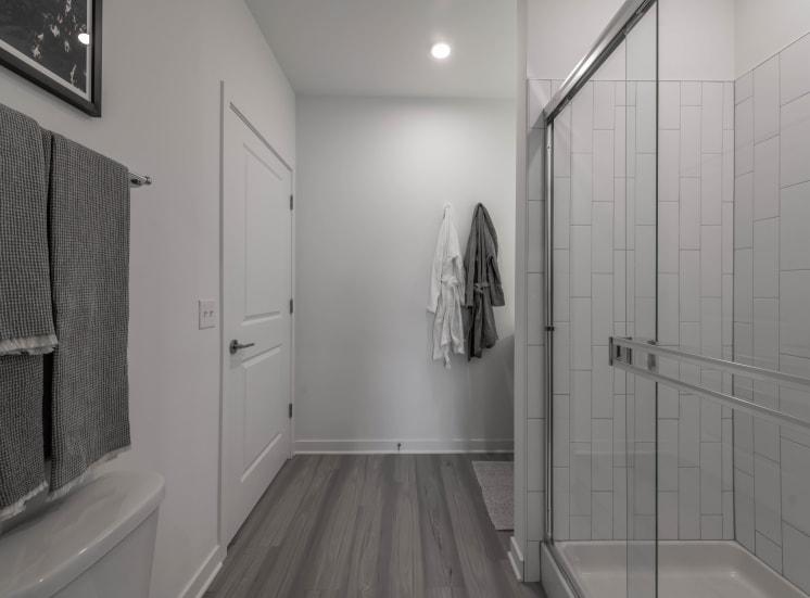 Stunning Tiled Shower