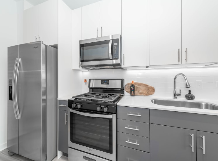 Modern Stainless Appliances