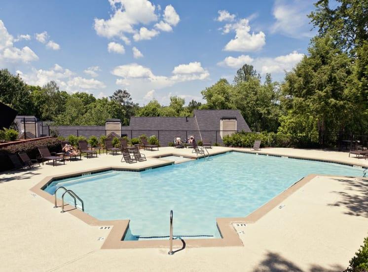 Two beautiful pools at Walton at Columns Drive, Marietta, 30067
