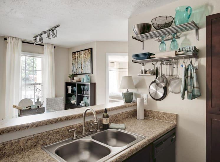 Dual Vanity Sinks at Walton at Columns Drive, Georgia, 30067