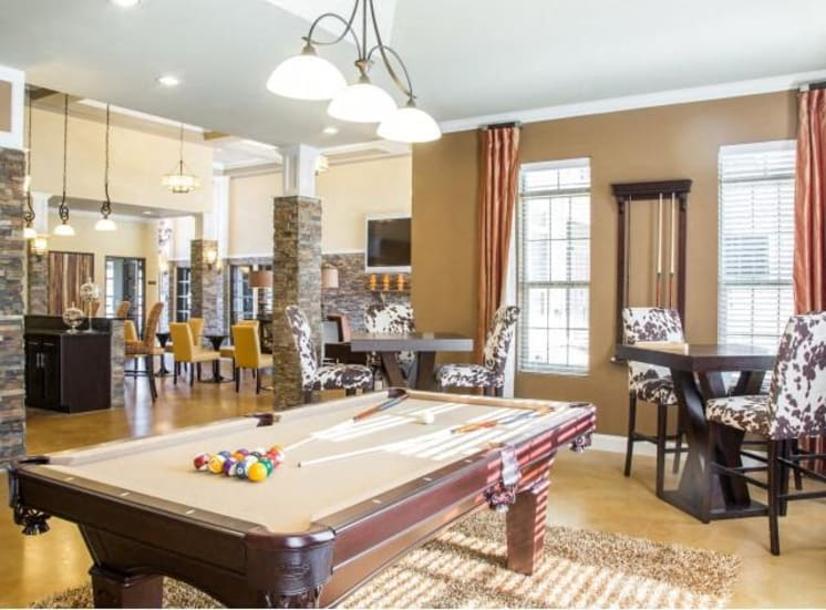 Billiard Lounge at Arrington Ridge, Round Rock, TX, 78665