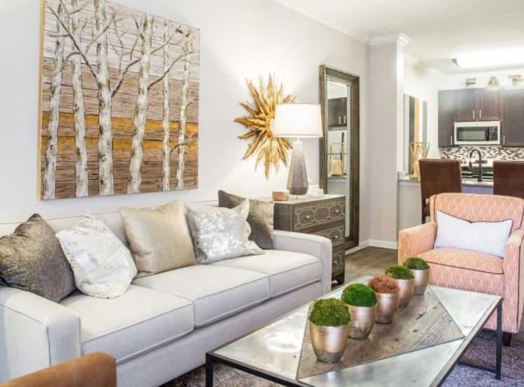Classic Living Room Design at Arrington Ridge, Round Rock, TX, 78665
