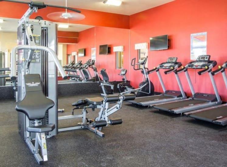 Fitness Center Cardio Equipment at Arrington Ridge, Round Rock, TX, 78665