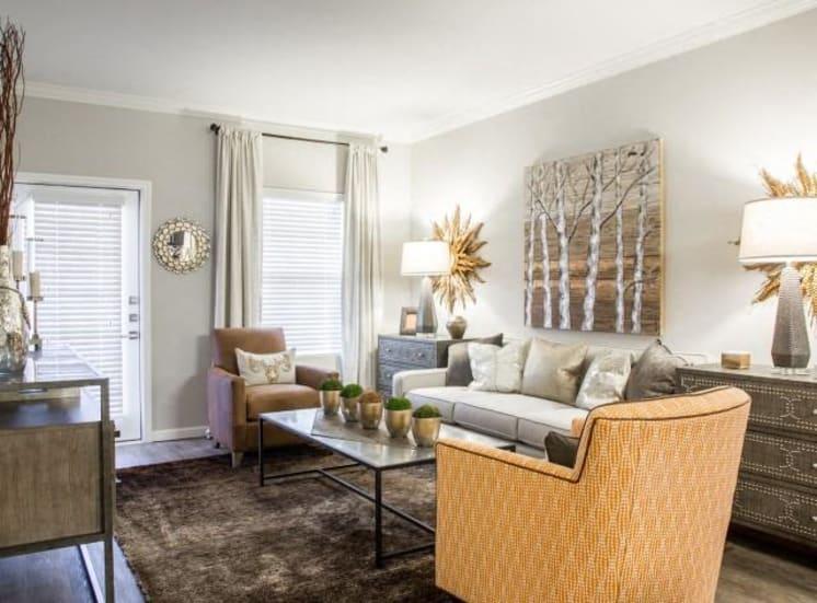 Classic Living Room Design at Arrington Ridge, Round Rock, TX