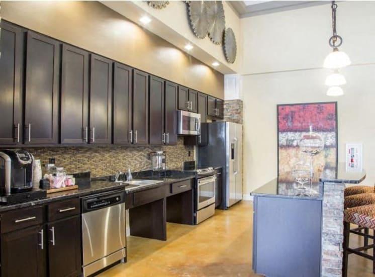 Luxury Community Kitchen at Arrington Ridge, Round Rock, Texas