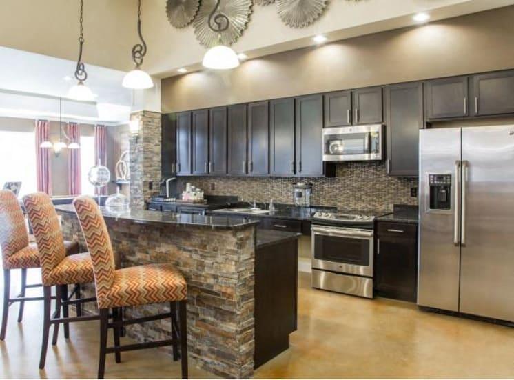 Community Kitchen Island at Arrington Ridge, Round Rock, 78665