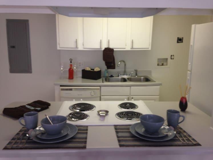 Kitchen Model - Range Sink View